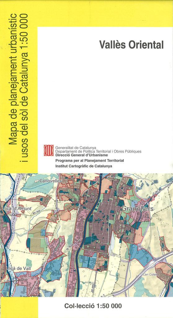 Mapa De Planejament Urbanistic I Usos Del Sol De Catalunya 1